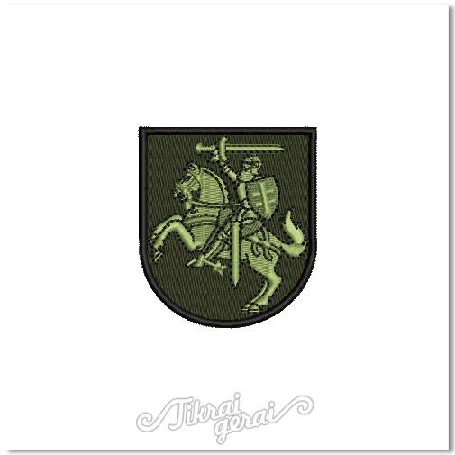 Antsiuvas Vytis herbas 6cm aukščio, v.3