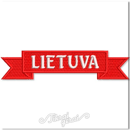 Antsiuvas Kaspinas Lietuva, v.6