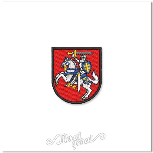 Antsiuvas Vytis herbas 5cm aukščio, v.1