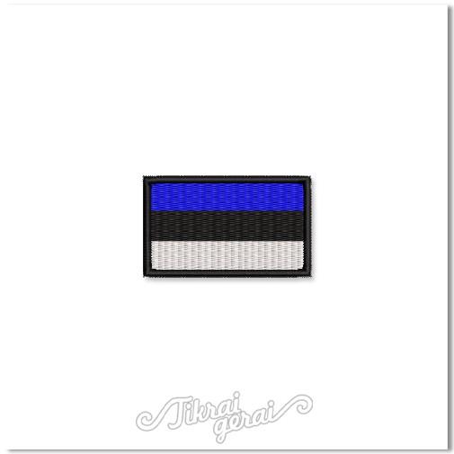 Antsiuvas ESTIJOS vėliava