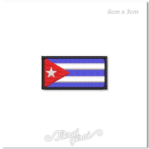 Antsiuvas Kubos vėliava