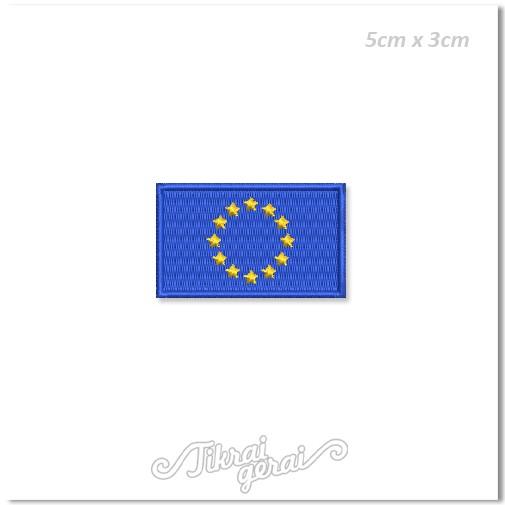 Antsiuvas Europos Sąjungos vėliava