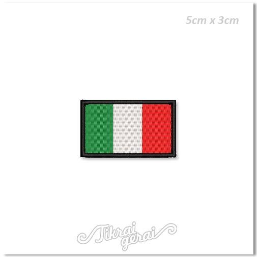 Antsiuvas ITALIJOS vėliava