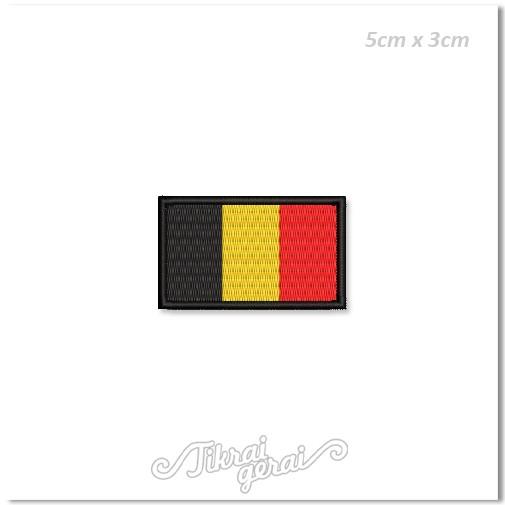 Antsiuvas BELGIJOS vėliava