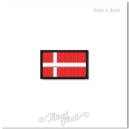 Antsiuvas DANIJOS vėliava