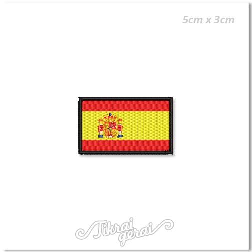 Antsiuvas ISPANIJOS vėliava