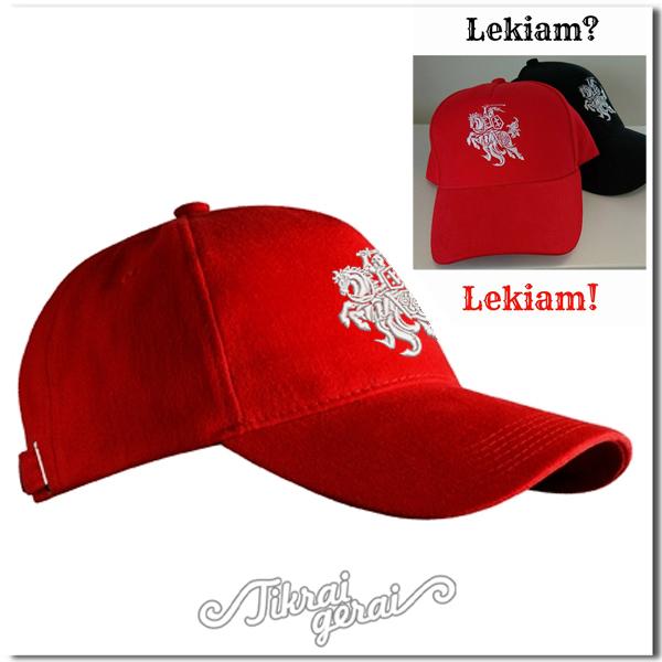 Kepurė su lekiančiu Vyčiu, v.1
