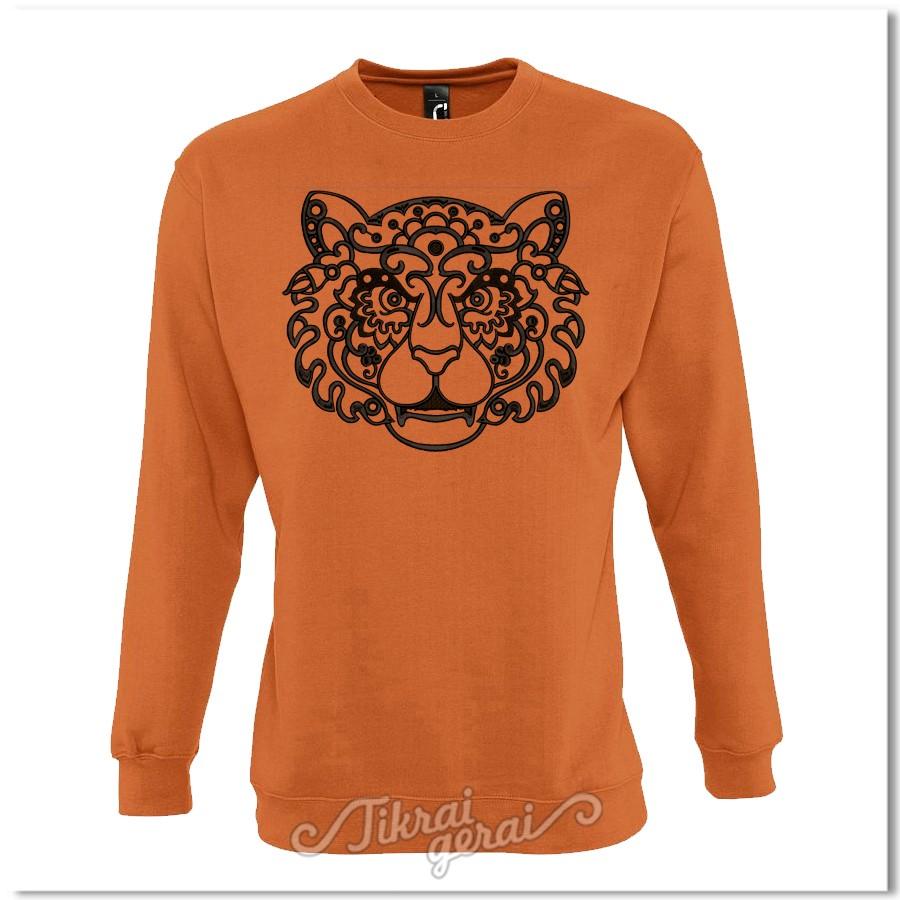 Džemperis Apelsininis tigras, v.1