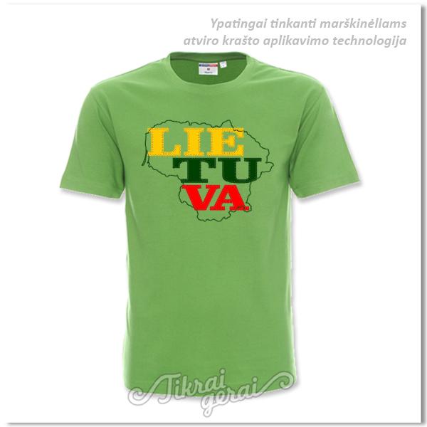 Marškinėliai Lietuva aplikacija, v.1