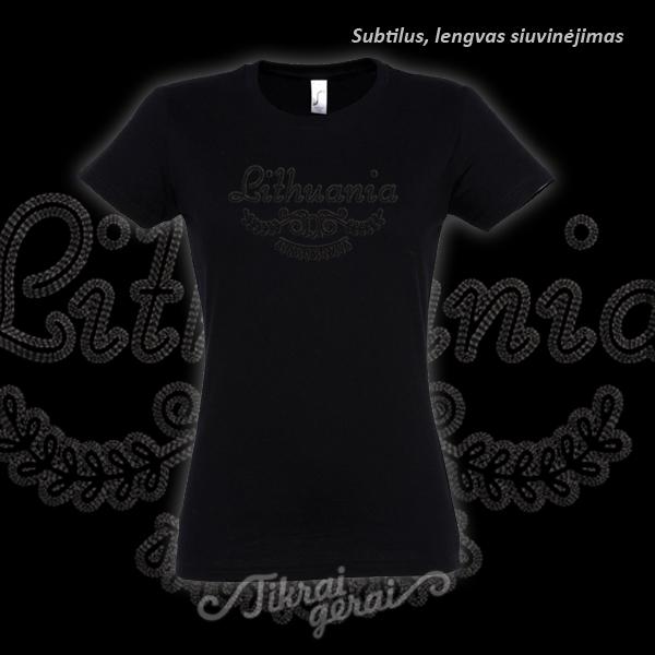 Marškinėliai moteriški Lithuania, v.1
